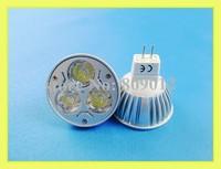 3W high power LED spotlight LED spot light 3W LED bulb lamp MR16 ( GU5.3 ) 3W 240lm AC12V free shipping