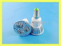 3W high power LED spotlight LED spot light 3W LED bulbs LED light cup E14 3W 240lm AC85-265V free shipping