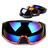 Skiing Mirror Double Layer Antimist Spherical Polarized  Ski Goggles  SKiing Eyewear With Box Black