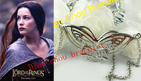 Freeshipping wholesale 20PC a lot Arwen necklace from Lord of ring Hobbit necklace hobbit pin CQW06