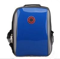 Grade 1-3 Mirror face PU leather Shoulder and spine protection design children school bags school backpack mochila infantil