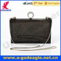 Free shipping! 2013 Fashion New Arrival Fashion Acrylic Clutch bag Ring Ring with Silver Powder Acrylic for lady U0001