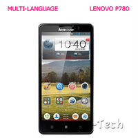 "NEW! Multi-Language Lenovo P780  5"" IPS Cpacitive+Android 4.2 OS+MTK6589 Quad Core+1GB/4GB+4000mah+GPS+Bluetooth+ SmartCellphone"