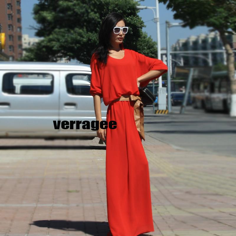 Женское платье maxi dresses new fashion 2013 summer women plus size maxi long dress loose floor length casual green one-piece vintage