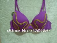 Sexy costumes women,purple bras,EL wire bra,Performance bra, light-up bra