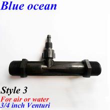 LF- 0075V , 3/ 4 de polegada , Venturi misturador de água a gás , ejetor venturi , alto, gerador de ozônio accessoriess , ozônio efetivo água(China (Mainland))