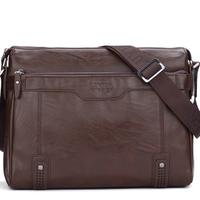 LUYIVARIYAEN Business men Briefcase messenger shoulder laptop bag crocodile pattern Free shipping