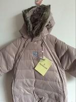 Sale clearance item retail winter baby child one piece romper infant down romper ropa bebe roupas de bebe chid winter romper