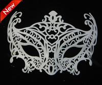 new arrive sexy black white fox mask venetian masquerade ball decoration carnival wedding bar prop 20pcs/lot free shipping