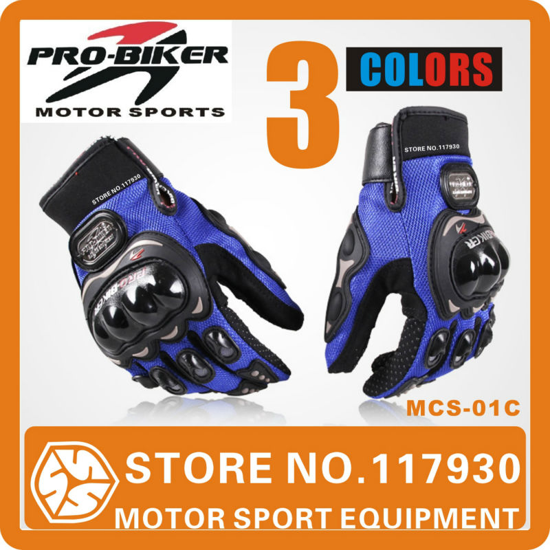 2014 Probiker MCS01C Motocross gloves Protector Gears Racing Protective Motorcycle gloves hand Guard Free shipping Promotion(China (Mainland))
