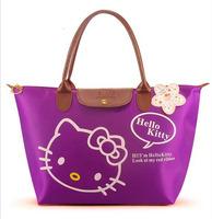 2015Hotsale New Arrival Hello Kitty Bag /Shopping Bag/Handbag 1PCS 9 colors Free Drop shiping