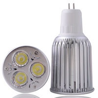 Free Shipping High Power Super bright LED GU5.3 ( MR16) 15W 12W  9W Dimmable Warm or CoolLED Light bulbs lamp 85-265V  or 110V