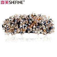 wholesale Hair accessory accessories hair accessory crystal hair caught Medium gripper hair pin