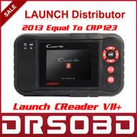 2014 New Released Original Auto Code Reader Launch X431 Creader VII+ Equal CRP123 Creader VII Plus Update Via Offical Website