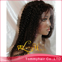 QingDao Arriving 3 daysWigs! brazilian hair  lace front human hair  wig!Curly#Color1B# full lace wig and front lace wig