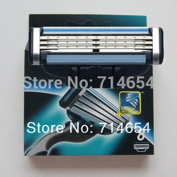 Free Shipping (16pieces/lot) Hot sell Men's Razor Blades,high Quality Blade,Shaving razor blade,Standard for US&RU&Euro