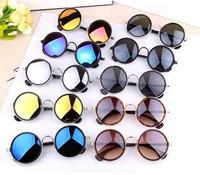 New 2015 Cazal Vintage Round Sunglasses Women Gafas Oculos Retro Coating Sun Glasses Shades Oculos De Sol Feminino