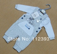 2013 New style autumn baby sets animal picture baby two piece sets size in 80/110/120cm ,Free shipping