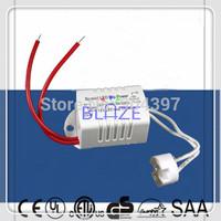 10pcs DIY Mini LED Power Supply AC/DC Adapters 5W Driver 220V To 12V Socket for LED MR11/MR16 3W 4W