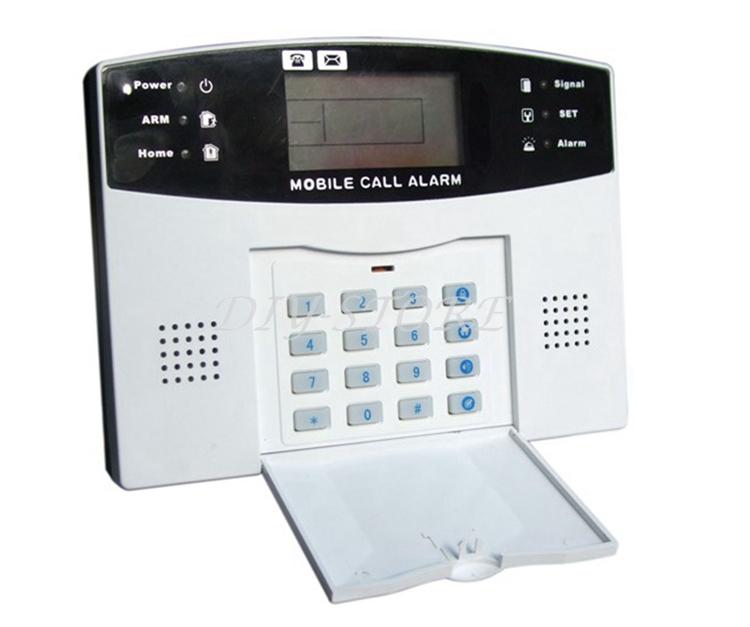 433MHz Wireless Home Gsm Sms Call Burglar Alarm System For Garage Storage Home Garden(China (Mainland))