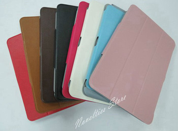 Hot Sell Stand Slim Leather Case Skin Cover for Samsung Galaxy Note 10 1 N8000 N8010, 1pc/lot