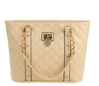 Hot Casual New arrival fashion heart rhombus design women leather handbag/Shoulder Bag WLHB