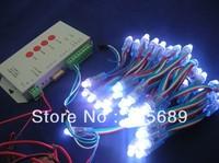 Round Shape 12mm WS2801 pixel string lights,WS2801 led pixel modules,IP68;DC5V input;full color;50pcs a string