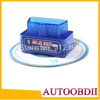 Newest  V2.1 Super Mini ELM327 Bluetooth OBD scanner ELM327 bluetooth Supports All OBD2 Model