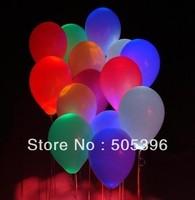 Free shipping 20pcs/lot led flashing balloon led party balloon wedding led balloon