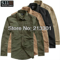 511 tactical quick dry breathable full sleeve non removable-sleeves nylon men's shirts Free shipping