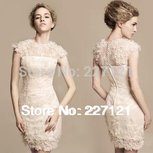 Бесплатная доставка новинка с коротким дизайнерская одежда женщин тонкий бедра свадебный ужин вечернее платье 2014 день рождения ну вечеринку вечерние платья