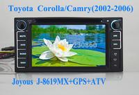 TOYOTA Corlla /Yaris/Camry/Prado/RAV4/Tundra  6.2  Inch Dual Din Car DVD Player+Analog TV +GPS+Radio+USB/SD+MP3/MP4