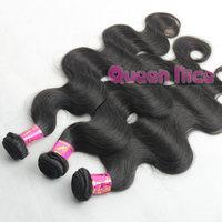 "QNice Hair 12""-30"" malay hair body wave 10pcs cheap malay hair weave bundles no tangle"