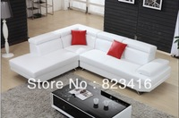 Leather couches /Size customized leather corner sofa AL112