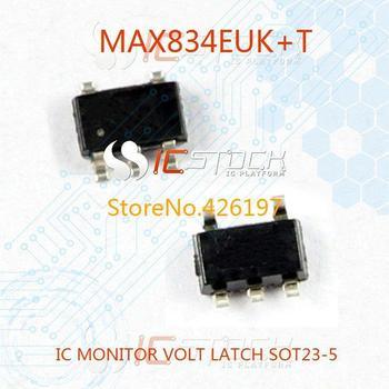 MAX834EUK IC MONITOR VOLT LATCH SOT23-5 834 MAX834 MAX834E 3pcs