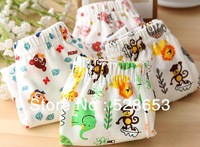 Free Shipping  6pcs/ lot N0049 Boys cotton boxer briefs underwear pants baby clothing children panties