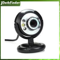 New USB 30.0M 6 LED Webcam Camera  digital USB 6 LED Webcam with Mic Digital Camera usb webcam,pc webcam