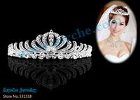 Bridal Crown,Fashion Rhinestone,Bridal Tiara,Crystal Wedding Accessories for Hair,Beauty crown,Jewelry Customized+Free shipping
