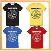 RAMONES man camiseta clothing rock hip hop mens fitness summer 2014 NEW t shirt men tee fashion camisas brand slim fit T-shirts
