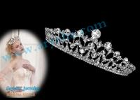 Free Shipping Bridal Wedding Crystal Rhinestone Crown Tiaras Pageant Homecoming Princess Crowns Crystal Tiara Customized.