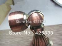 304 Stainless Steel Red Bronze Magnetic Door Stopper Holder Antique Furniture Cabinet Dark