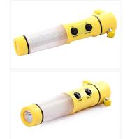 Life-saving hammer four in one auto safety hammer car escape hammer multifunctional flashlight emergency light
