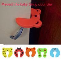 BABY door security door card treasure Carmen stop door stopper door clip door card hand pinch the child safety gate card