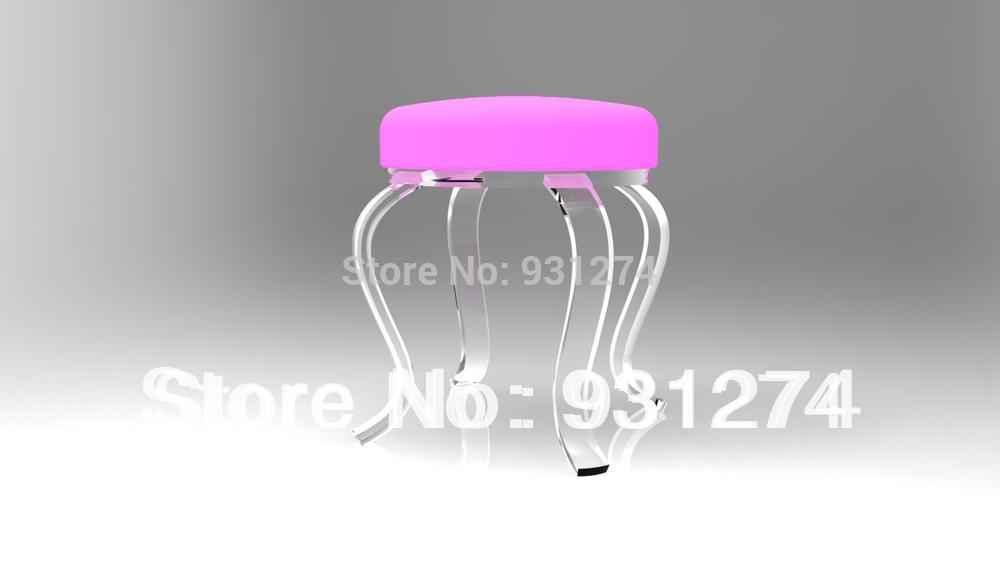 Aliexpress Buy clear acrylic vanity stool plexiglass