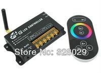 Led RGB Controller 2.4G Led Strip Controller DC12V-24V 24A LED RGB Strip Light Controller Touchable Remote Controller RF201