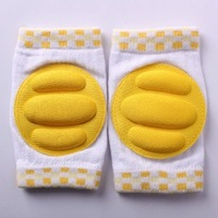 20Pairs/lot Baby Safety Knee Pad Kids Socks Children Short Kneepad Crawling Protector Free Shipping