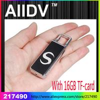 HD small camcorder  motion detection 720P  sound recording  mini DVR  mini dv  recorder AT007 Alloy U disk DV with 16GB