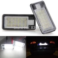 No error LED Kit for Audi Q7/A3/A4/A6/A8/S3/S4/S6/S8/Passat B7 LED License Number Plate Light