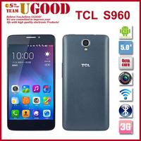Original TCL Idol X+ S960 Mobile Phone MTK6592 Octa Core Cell PHones 2GB RAM 16GB ROM 5 Inch FHD 1920*1080 IPS 13.1MP Unlocked