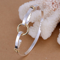 Christmas gift. hot sale silver bangle, high quality fashion bangles,romantic bangles For Women And Men Jewelry